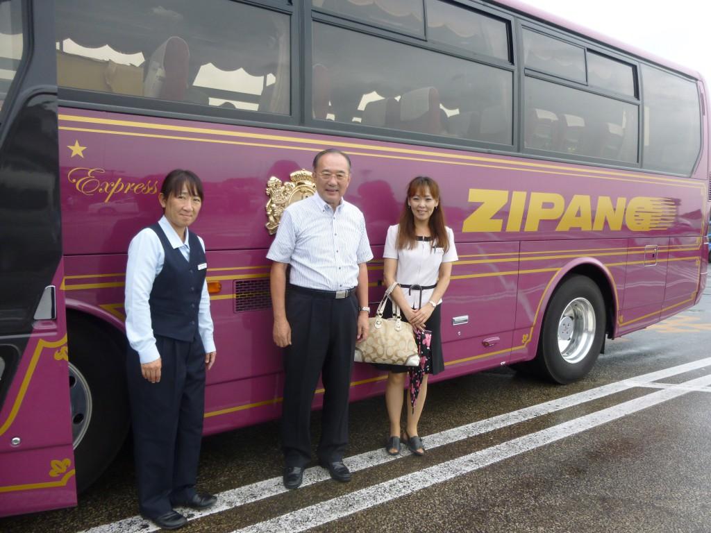 右がカリスマガイドの中田さん